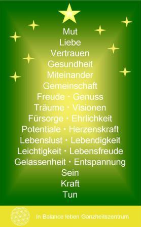 Weihnachtsbaum Der Guten Wünsche.Weihnachtsbaum Der Guten Wünsche Claudia Bäumer