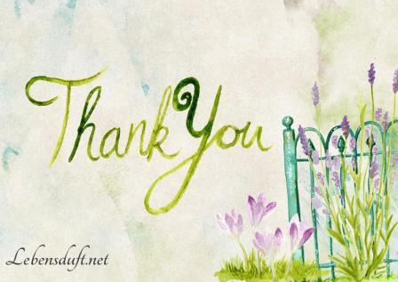 Dankbarkeit - Lebensduft.net / Claudia Bäumer