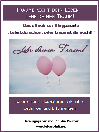 Cover_eBook Täume nicht dein Leben, lebe deinen Traum