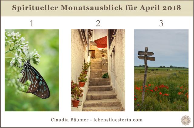 Spiritueller Monatsausblick April lebensfluesterin.com